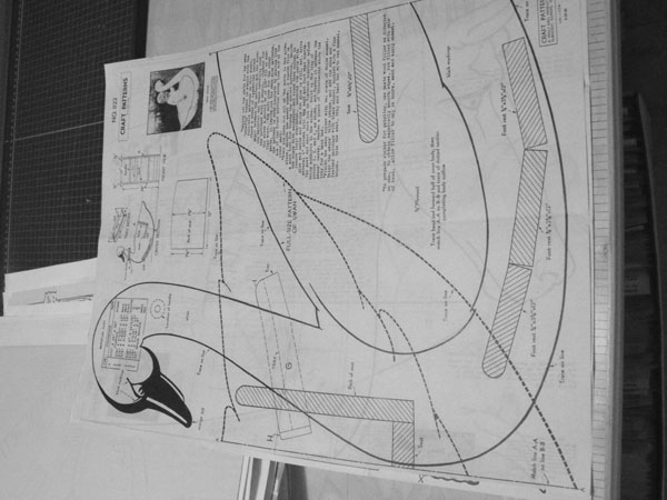 Swan Rocker Vintage Woodworking Plan.
