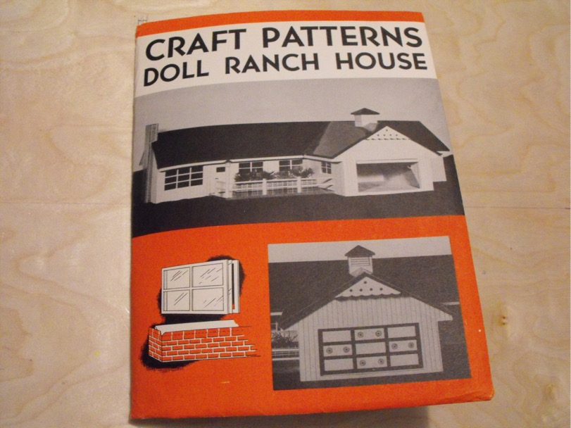 Doll Ranch House Vintage Woodworking Plan