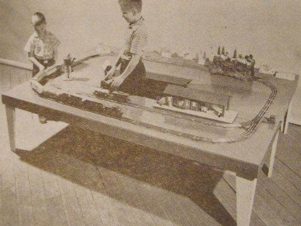 New Horizons for Model Railroads Vintage Woodworking Plan