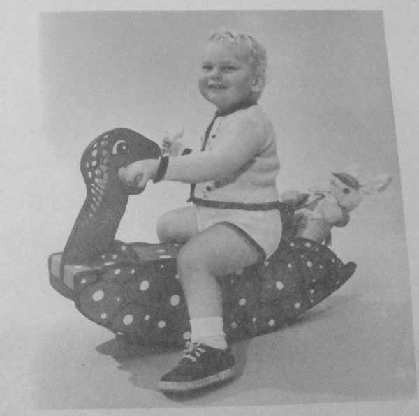 Turtle Rocker with Rumble Seat Vintage Woodworking Plan