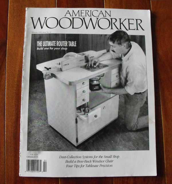 American Woodworker Feb 1992 No. 24 Vintage Woodworking Magazine
