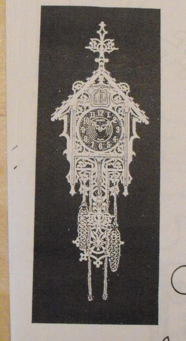 R kcp49577 monadnock cuckoo vintage woodworking plan woodworkersworkshop online store - Cuckoo clock plans ...