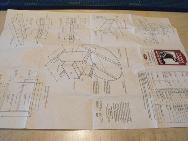 Chair Table Woodworking Plan Featuring Norm Abram