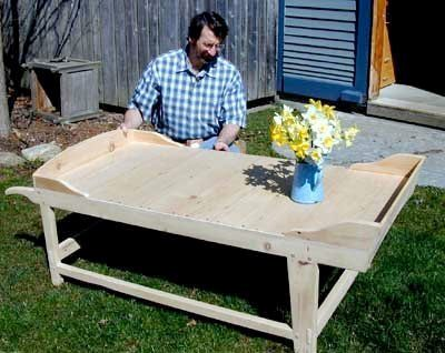 Sheep Shearing Coffee Table Woodworking Plan Featuring Norm Abram