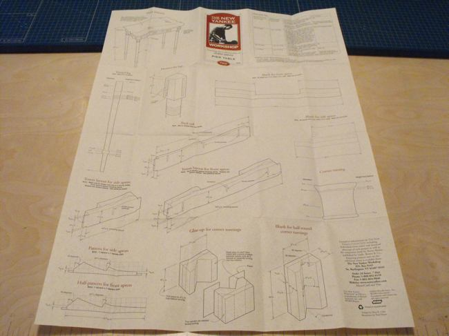 Pier Table Woodworking Plan Featuring Norm Abram