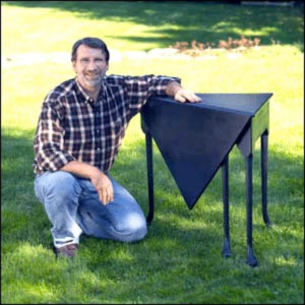 Corner Table Woodworking Plan Featuring Norm Abram