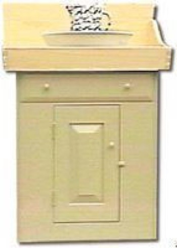 R-NYW3041 - Shaker Washstand Woodworking Plan Featuring Norm Abram