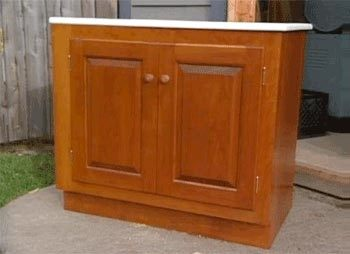 Bathroom Vanity Woodworking Plan Featuring Norm Abram ...
