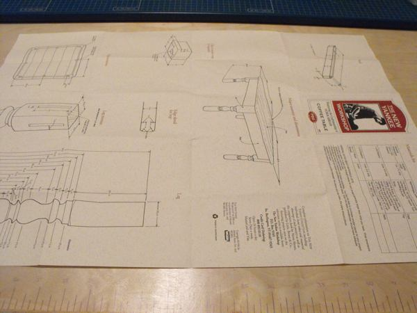 Coffee Table Woodworking Plan Featuring Norm Abram