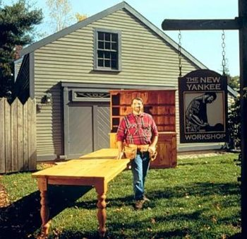 Long Table Woodworking Plan Featuring Norm Abram