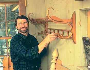 Hat Rack Woodworking Plan Featuring Norm Abram