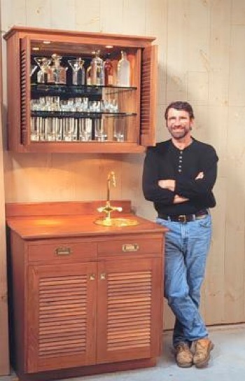 Teak Bar Woodworking Plan Featuring Norm Abram Woodworkersworkshop