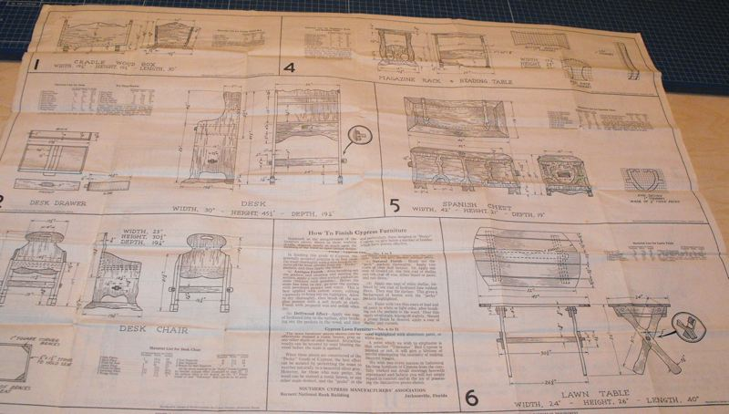 R-SCM1 - 6 Vintage Woodworking Plans