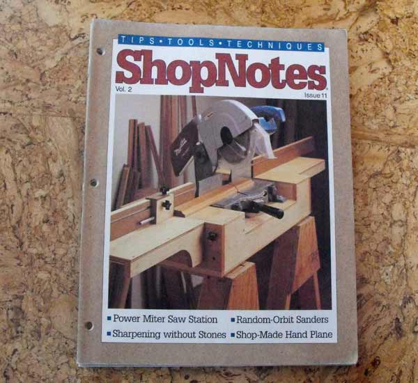 Shopnotes Issue 11 Vol 2 Recycled Woodworking Magazine