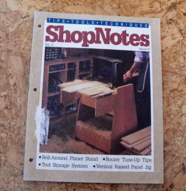 Shopnotes Issue 9 Vol 2 Recycled Woodworking Magazine
