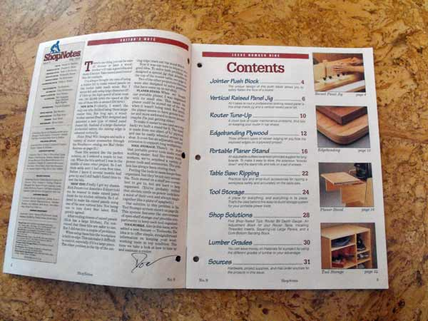 R-SHOPNOTES9 - Shopnotes Issue 9 Vol 2 Recycled Woodworking Magazine