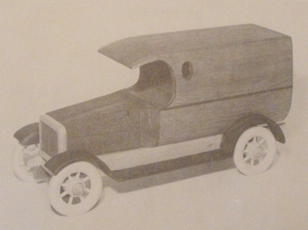 1924 Dodge Van Vintage Woodworking Plan