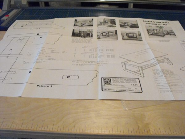 R-UBILD757 - Coffee and End Table Vintage Woodworking Plan