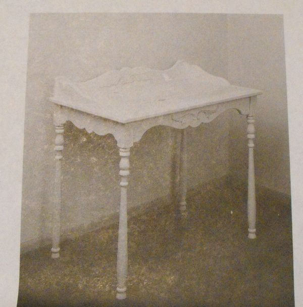 Queen Anne Desk Vintage Woodworking Plan