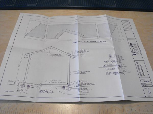 3 Gable Storage Shed Vintage Woodworking Plans