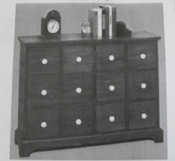 Apothecary Cabinet Vintage Woodworking Plan.