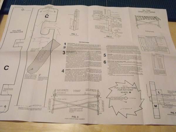 A Quilt Rack Vintage Woodworking Plan - WoodworkersWorkshop