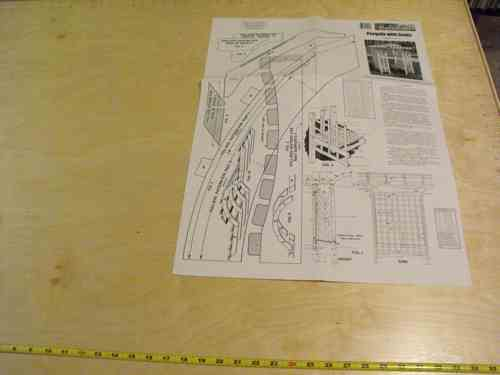 R14-1239 - Trellis Arched with seating Vintage Woodworking Plan.