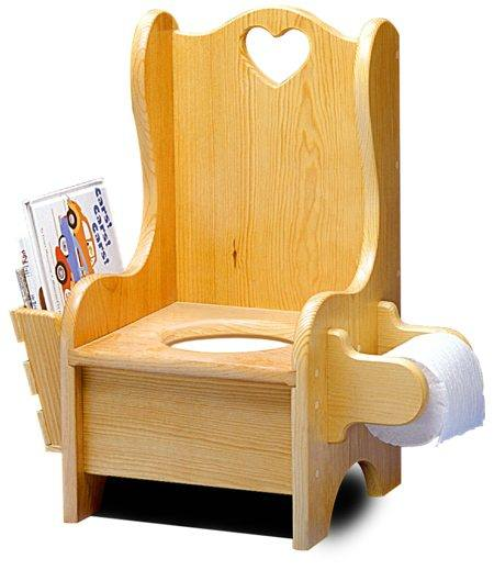 Incroyable Childrens Potty Chair Vintage Woodworking Plan.