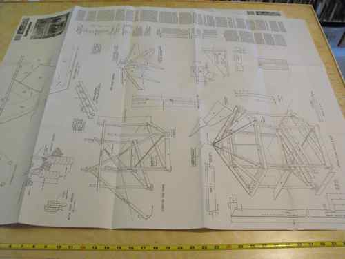 Gazebo 12 ft Construction Vintage Plan.