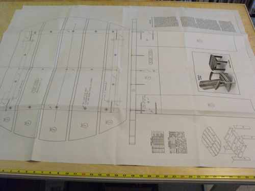 R14-1749 - Adirondack Chair and Table Vintage Woodworking Plan.