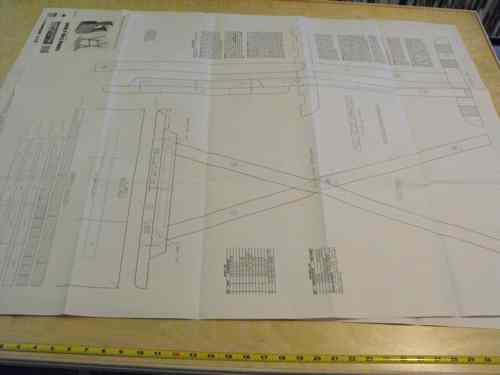 R14-1850 - TV Tray Tables Vintage Woodworking Plan