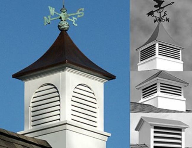 R14-2154 - Distinctive Cupolas Vintage  Woodworking Plan All 4 designs included.