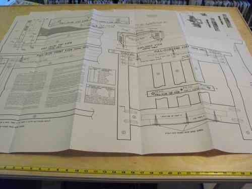 Mission Style Tables Vintage Woodworking Plan Set All 3 designs included.