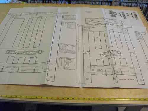 R14-2246 - Mission Style Tables Vintage Woodworking Plan Set All 3 designs included.