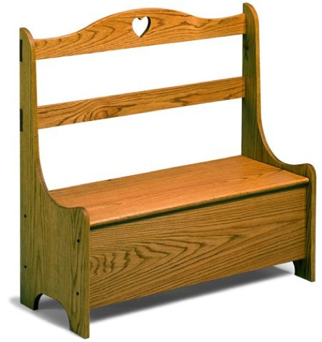 Hutch Bench Vintage Woodworking Plan
