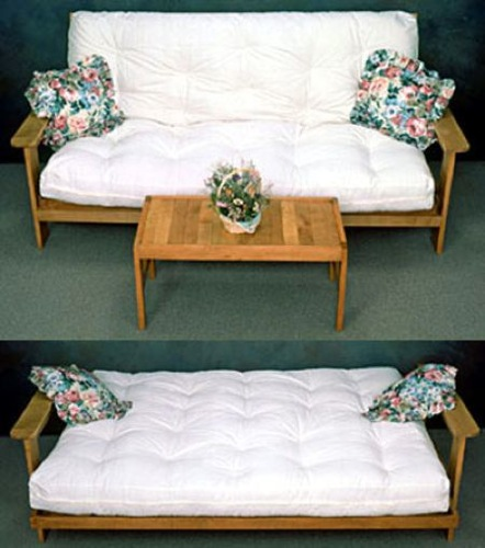 R14-2373 - Futon Sofa Bed with table Vintage Woodworking Plan Set