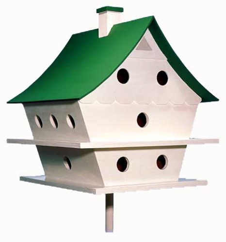 R14-311 - Graceful Martin House Birdhouse Vintage Woodworking Plan