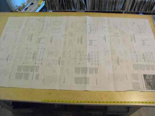 R14-5190 - Arched Bridge Vintage Woodworking Plan Set All 3 sizes included
