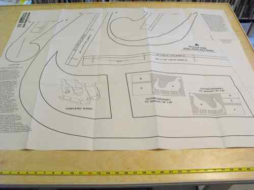 Santa Sleigh Woodworking Plans