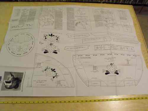 R14-838 - Doll Love Buggy Vintage Woodworking Plan.