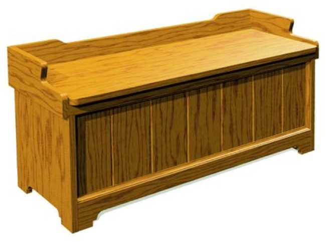Paneled Hope Chest Vintage Woodworking Plan.