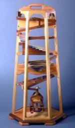 Marble Tower Woodworking Plan.