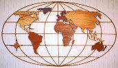 04-FS-105 - World Map Woodworking Plan.