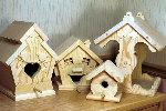 Bird House Collection Woodworking Plan Set - all 4 designs included.