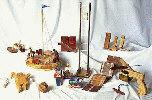 All American Novelties Woodworking Plan Set - 12 designs included.