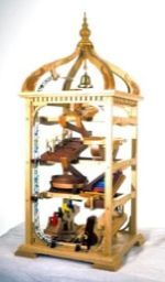 Marble Machine, Bell Tower Woodworking Plan.