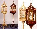 Victorian Pedestal Birdcage Woodworking Plan.