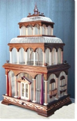 Venice Bird Cage Woodworking Pattern