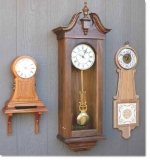 Mantle Clock, Wall Clock and Banjo Clock Woodworking Plans Set of 3, clocks,banjo,vienna,mantle,yard art,painting wood crafts,scrollsawing patterns,drawings,plywood,plywoodworking plans,woodworkers projects,workshop blueprints