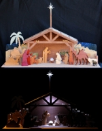 3D Holiday Nativity in Wood Scrollsaw Woodworking Plan. woodworking plan